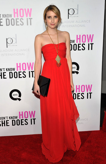 Emma Roberts in Tibi | 'I Don't Know How She Does It' Premiere