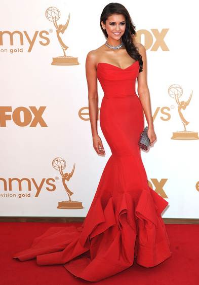 Emmy Awards Fashion: Red Hot Ladies