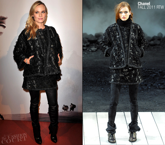 Diane Kruger in Chanel | 'Forces Speciales' Paris Premiere