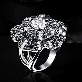 Chanel Fine Jewelry - Camelia Nervure Ring