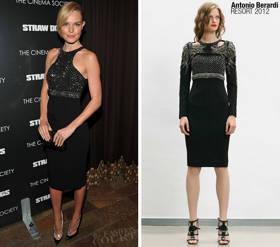 Kate Bosworth in Antonio Berardi | 'Straw Dogs' NY Screening